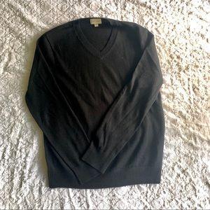 Men's Black Club Monaco Sweater